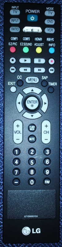 LG Original Remote Control - (NEW) HOT DEAL 6710900010X